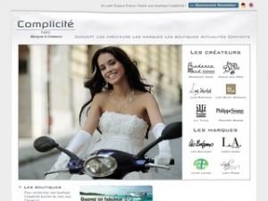 Catalogue robe mariée Complicité