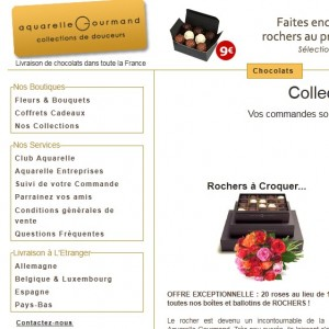 CATALOGUE AQUARELLE GOURMAND