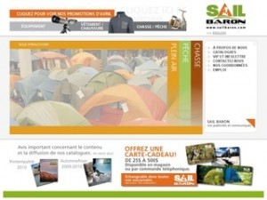 catalogue plein air sail le baron