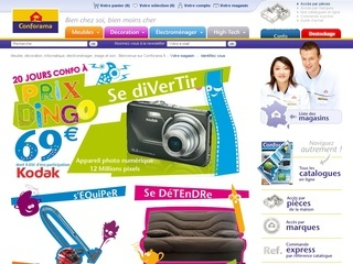 CATALOGUE CONFORAMA
