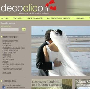 Decoclico, liste de mariage originale