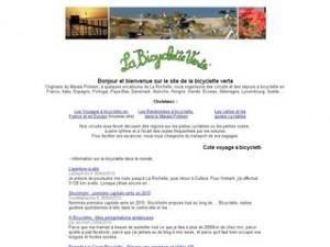 bicyclette verte.com