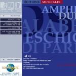 catalogue partitions musicales durand-salabert-eschig