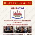 catalogue hifi câbles
