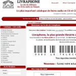 catalogue livres audio livraphone