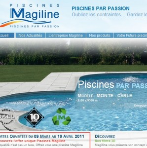 CATALOGUE PISCINES MAGILINE