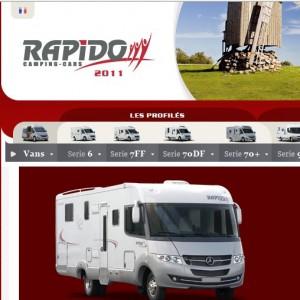 Rapido Campings Cars, spécialiste du camping car