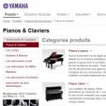 catalogue instruments de musique yamaha