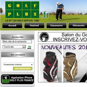 catalogue golf plus