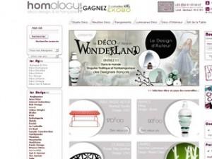 catalogue meubles décoration homology