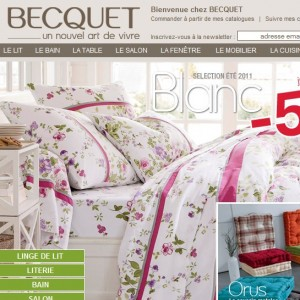 CATALOGUE BECQUET