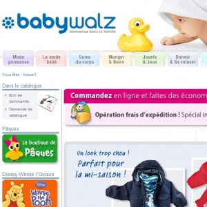 catalogue vêtements bébé baby walz