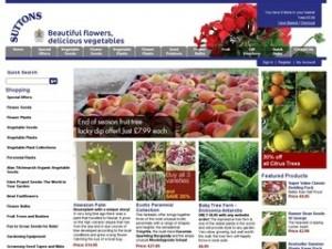 catalogue plantes suttons