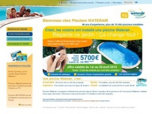 CATALOGUE PISCINES WATERAIR