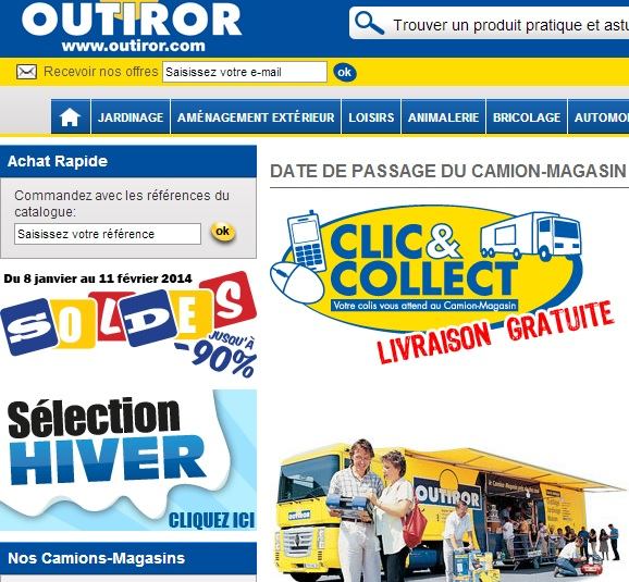 CATALOGUE CAMION MAGASIN OUTIROR