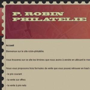 Patrice Robin Philatélie