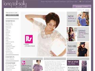 catalogue vêtements pour grandes longtallsally