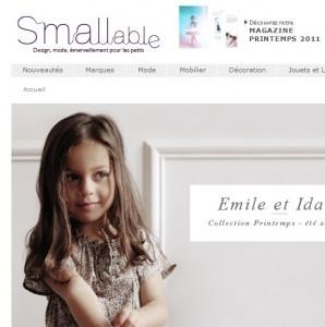 catalogue vêtements chic enfants smallable