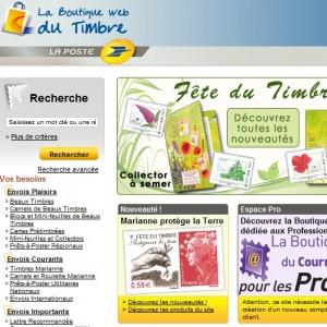 La Poste   La boutique web du timbre