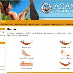 catalogue hamacs acandi
