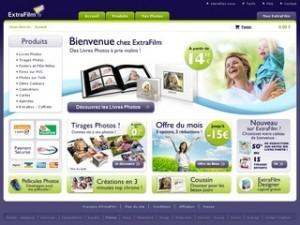 catalogue tirage photos numériques extrafilm.fr