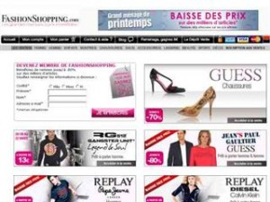 VENTE PRIVÉE FASHION SHOPPING