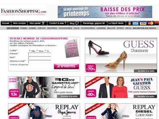 catalogue ventes privées grandes marques fashion shopping