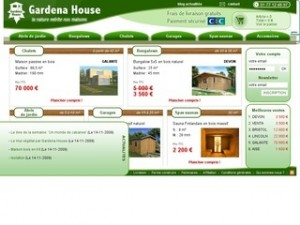 CATALOGUE GARDENA HOUSE