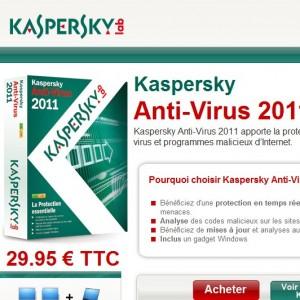 logiciel anti virus kapersky