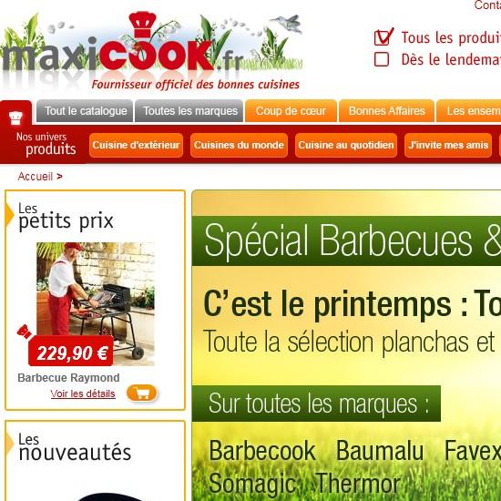 catalogue ustensiles de cuisine maxicook