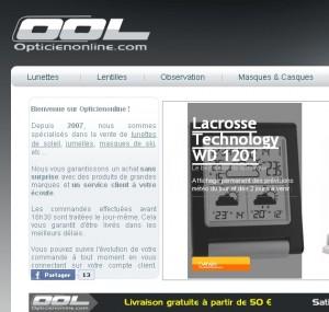 Opticien Online, tout loptique en un site