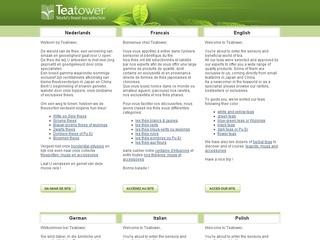 CATALOGUE TEATOWER, les meilleurs thés du Monde