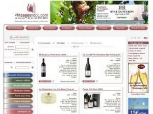 Vintage and co, spécialiste du vin millésimés