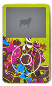 SHEEPME, skins sublimes pour iPod