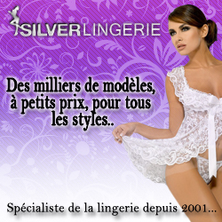 CATALOGUE SILVER LINGERIE