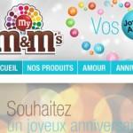 M&M's : des bonbons et du plaisir