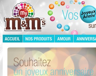 M&Ms : des bonbons et du plaisir
