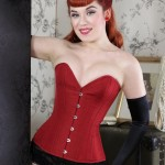 what katie did, corset retro