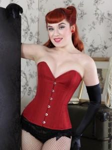 what katie did, corset retro