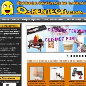 OpenTech, idée cadeau insolite et gadget original